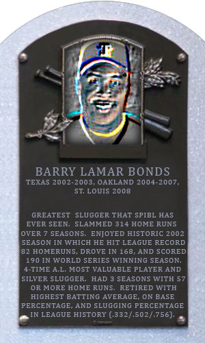the life and hall of fame career of barry bonds Barry bonds drove in one fewer run with just home runs (1,174) than hall of famer craig biggio did in his entire career (1,175) all of those sentences justify bonds' induction into the baseball .